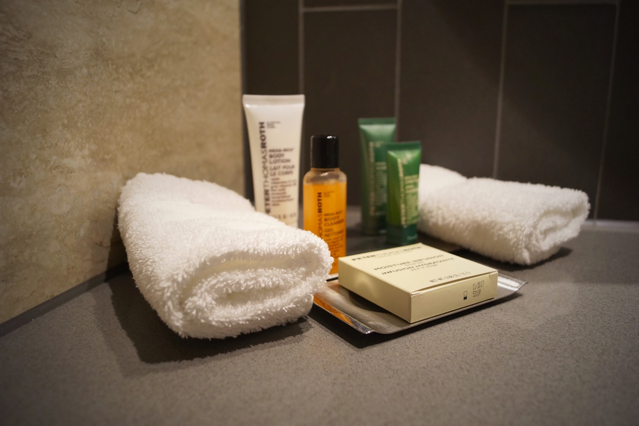 Hilton London Bankside Bathroom Toiletries