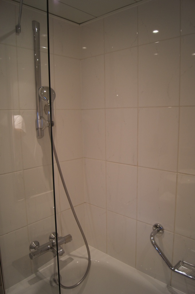 Hilton Prague Bathroom Shower