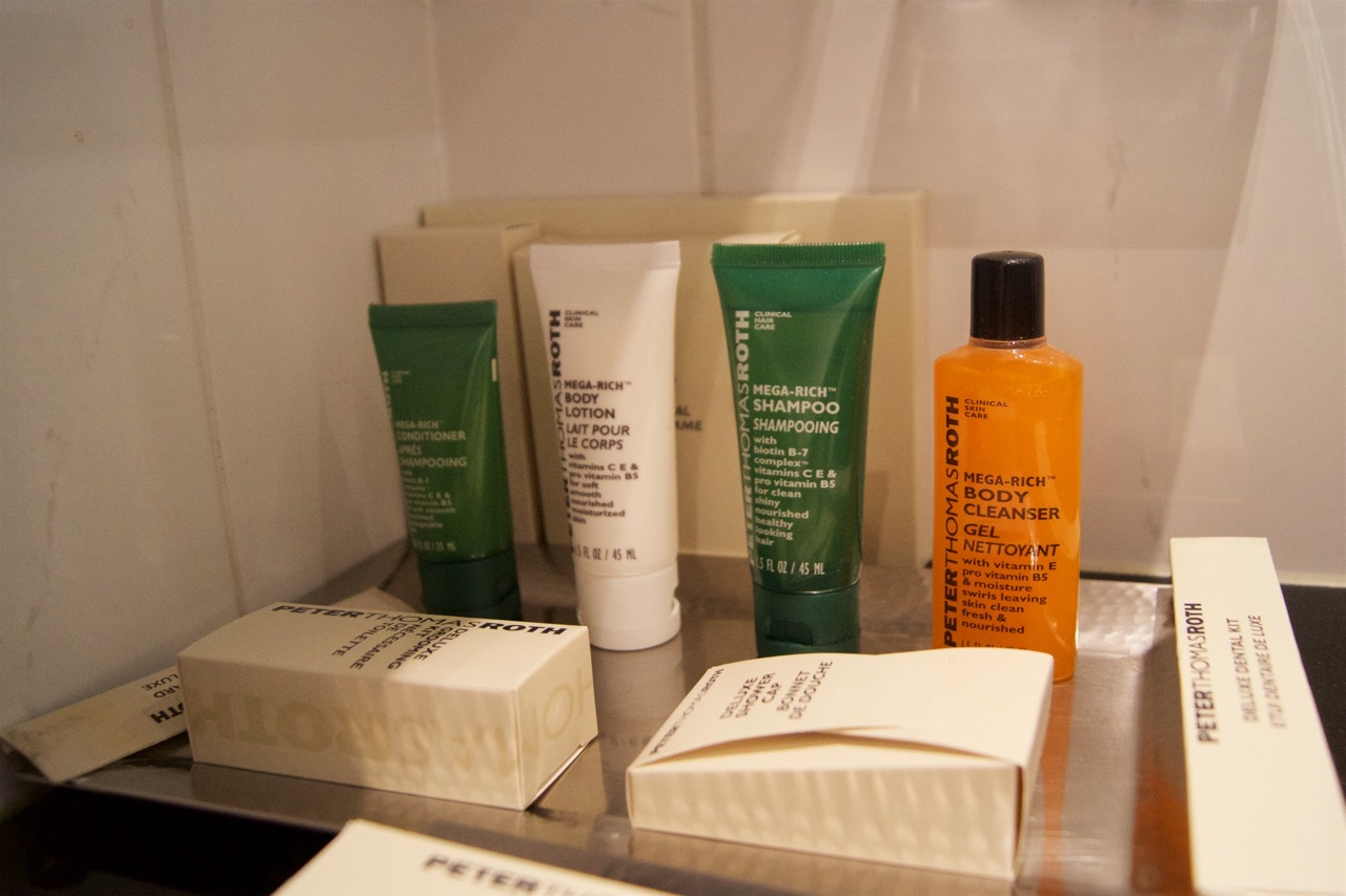 Hilton Prague Bathroom Toiletries