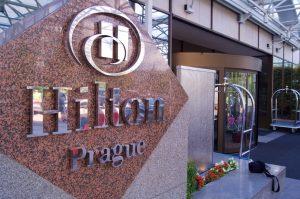 Hilton Prague Hotel Entrance