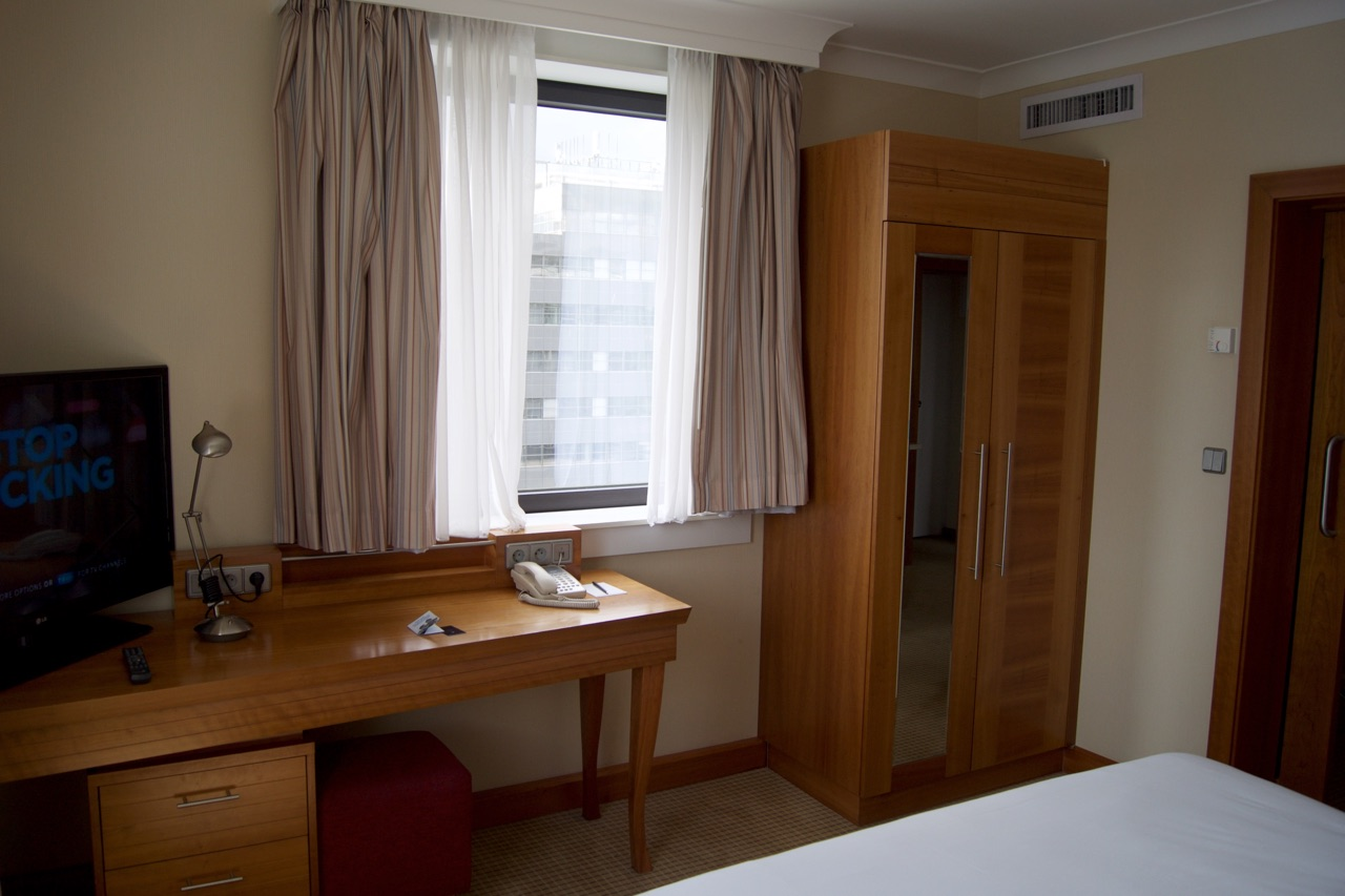 Hilto Prague Junior Suite Bedroom Desk