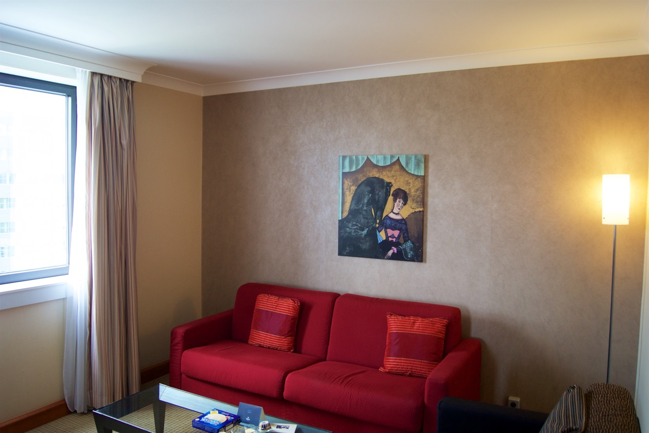 Hilton Prague Junior Suite Lounge