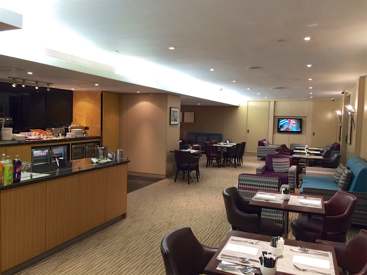 Hilton London Gatwick Airport Hotel Executive Lounge