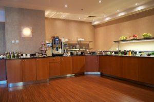 Hilton Prague Executive Lounge Food & Drinks