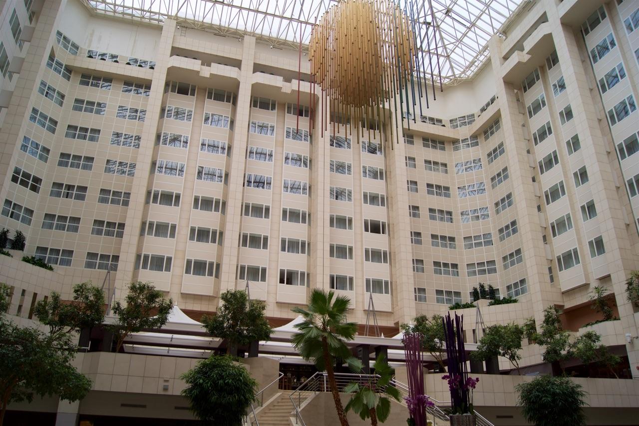 Hilton Prague Hotel Atrium