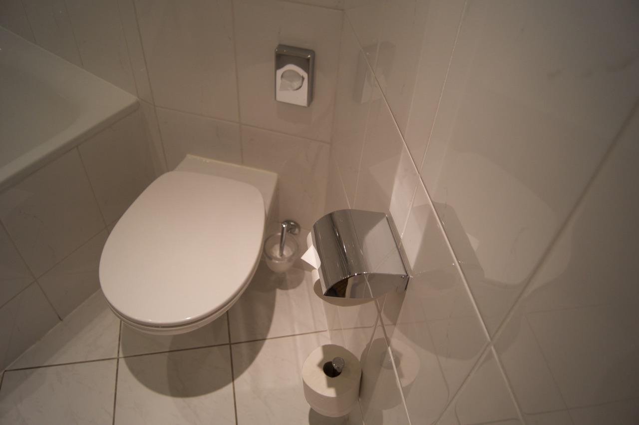 Hilton Prague Bathroom Toilet