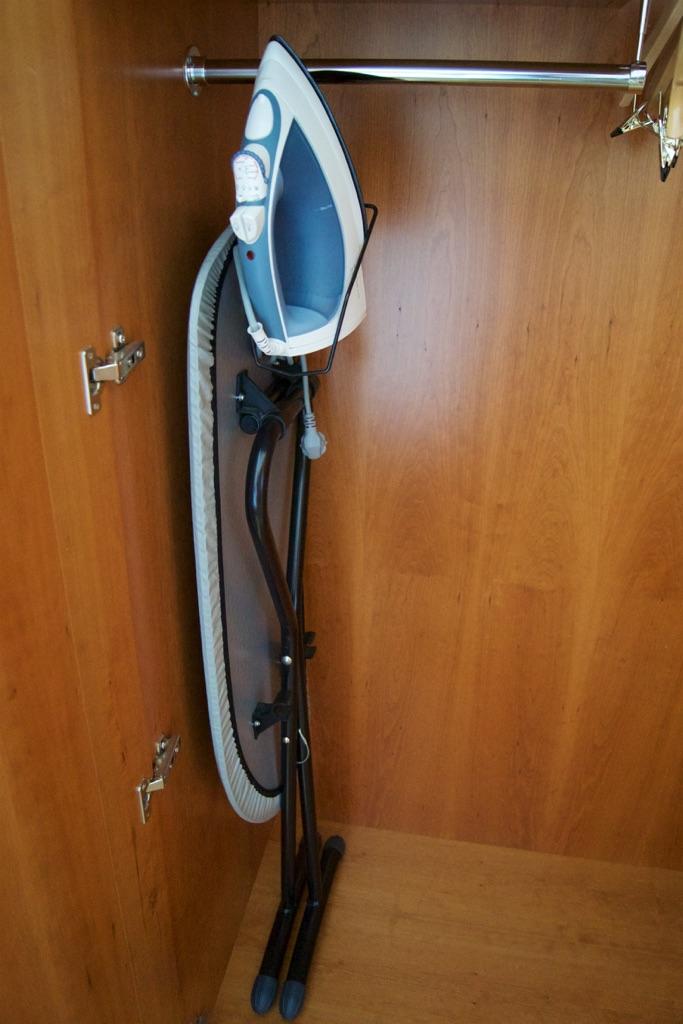 Hilton Prague Hotel Bedroom Iron