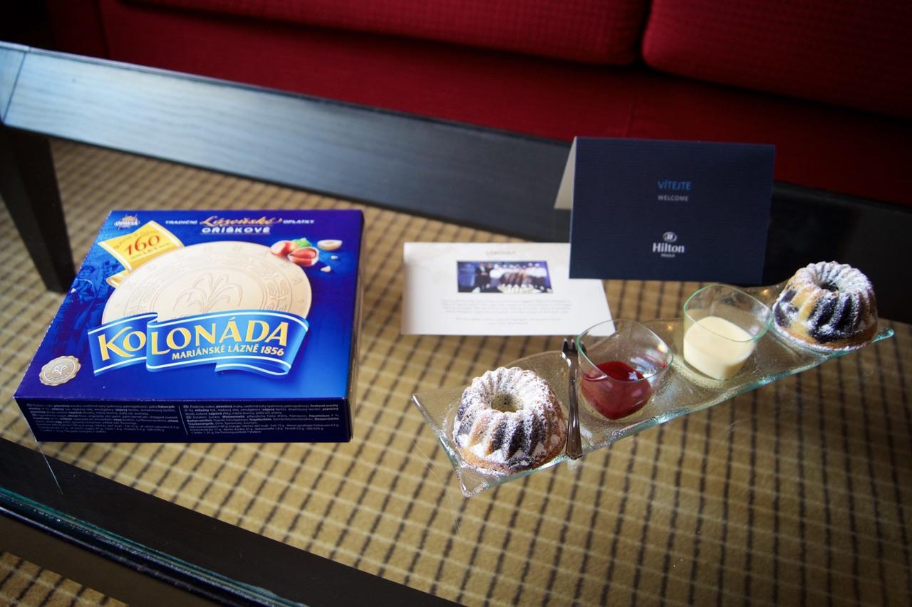 Hilton Prague Hotel Gifts