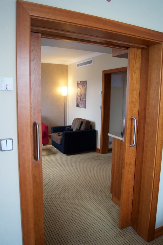 Hilton Prague Junior Suite Doors