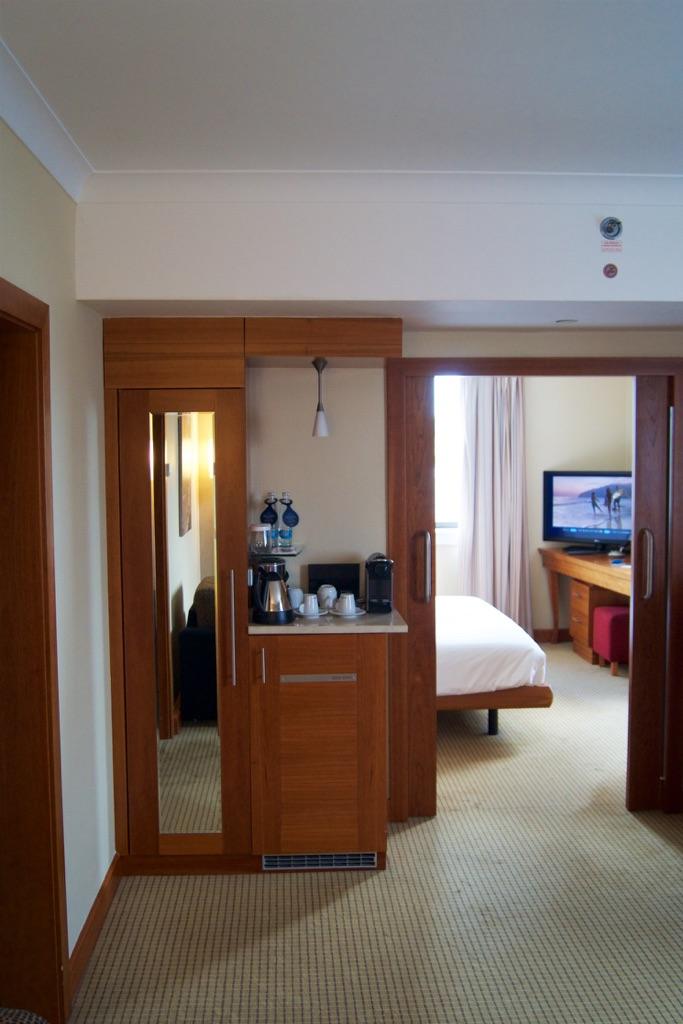Hilton Prague Junior Suite Lounge Area