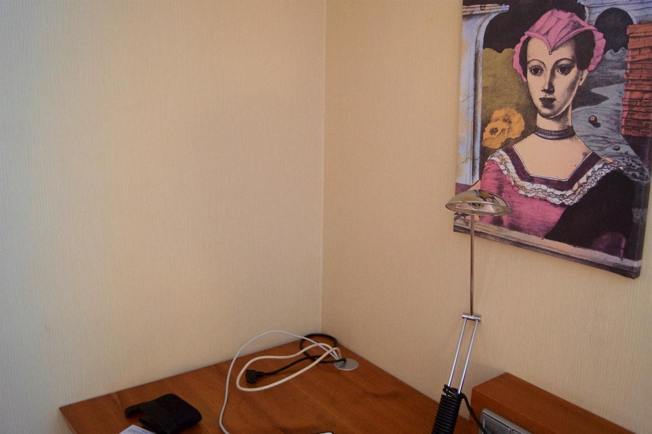 Hilton Prague Junior-Suite Missing TV