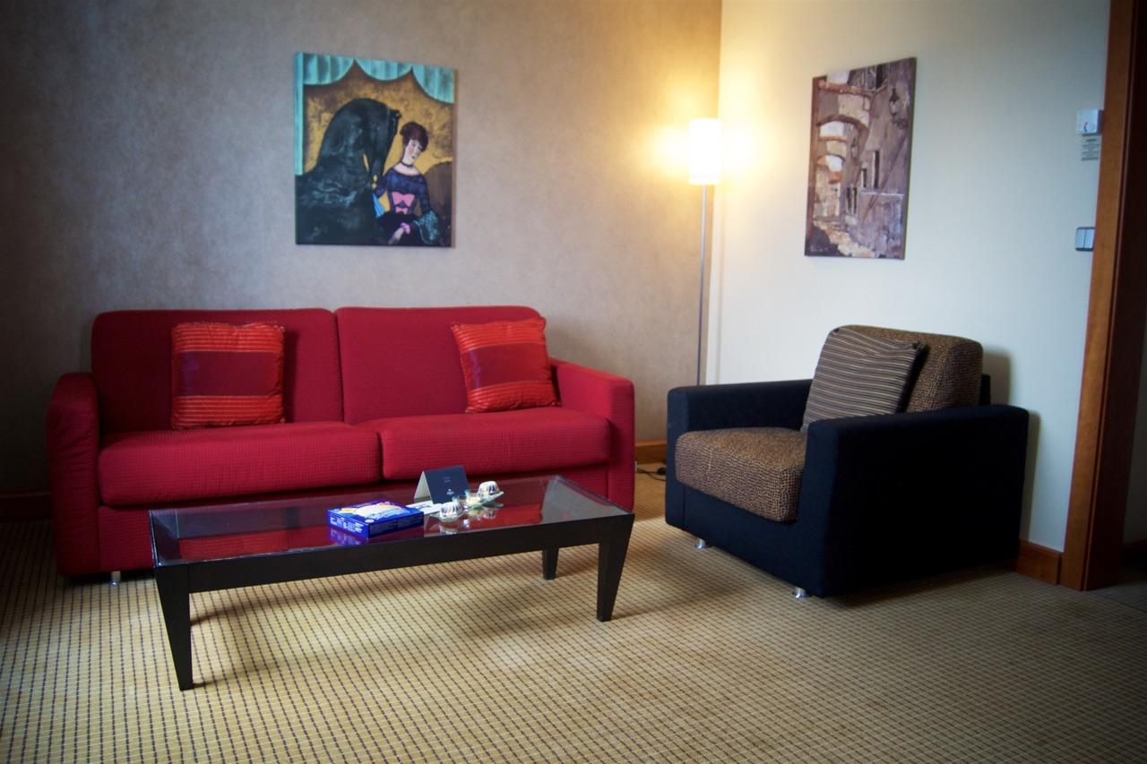 Hilton Prague Junior Suite