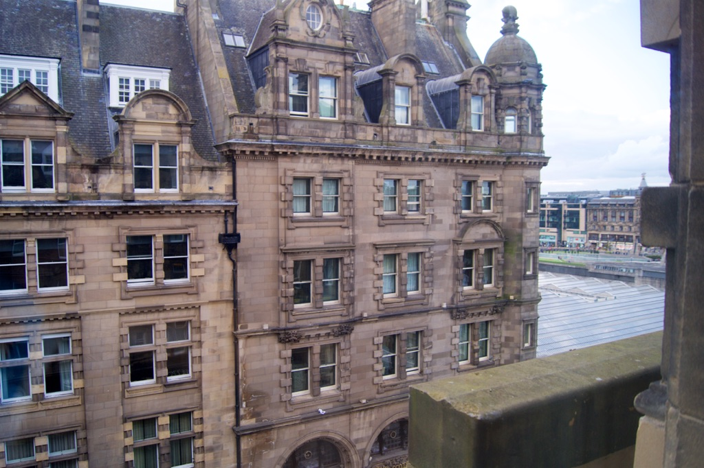 Hilton Edinburgh Carlton Bedroom View