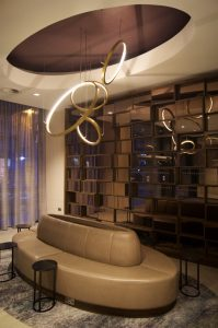 Hilton Edinburgh Carlton Reception Area