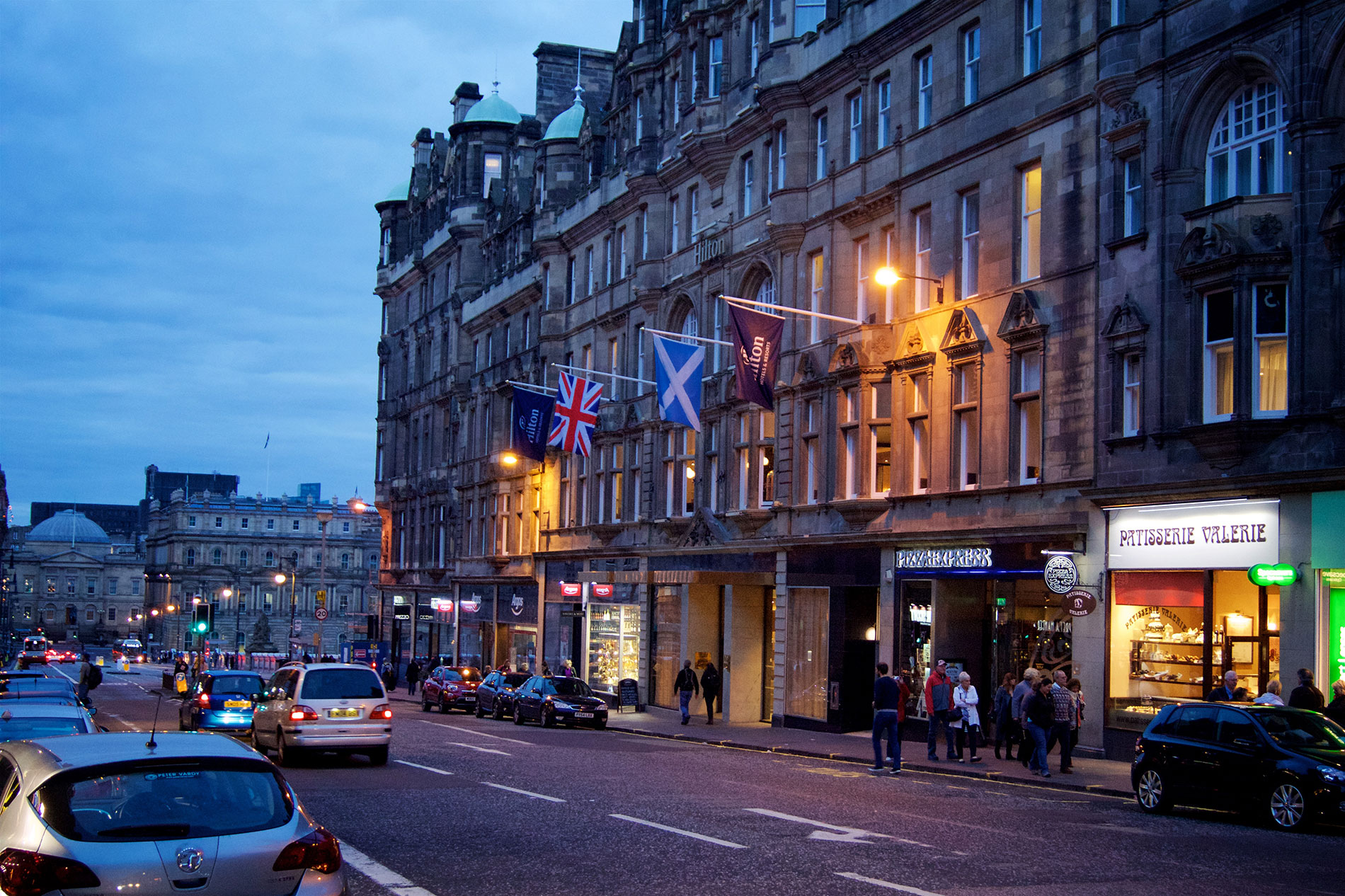 Hilton Edinburgh Carlton Hotel Review
